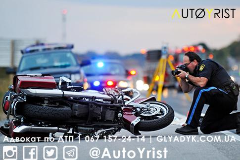 ДТП с пострадавшими в Киеве: мотоциклист погиб от столкновения с авто